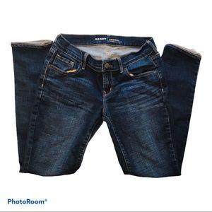 SALE🔥 OLD NAVY MID RISE SKINNY LEG Jeans in dark